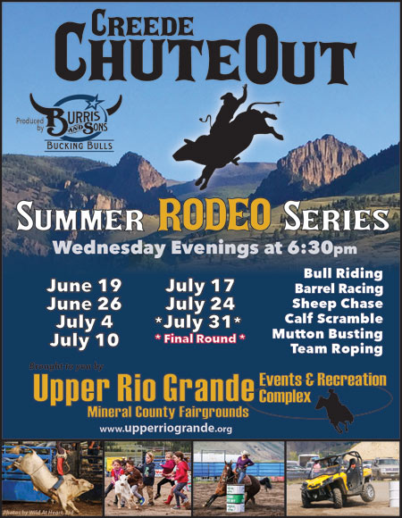 Creede ChuteOut Rodeo 2019 – SLVoices